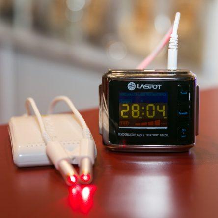 Laserové hodinky LASPOT