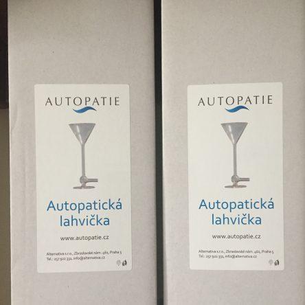Autopatická lahvička – prodej