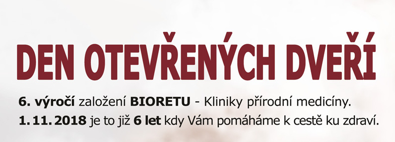 Den otevřených dveří na klinice přírodní medicíně BIORET