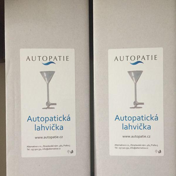Autopatické lahvičky - prodej Praha Klánovice